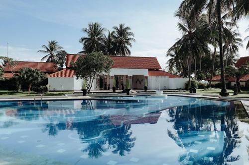 Ferienhaus mit-Schwimmbad